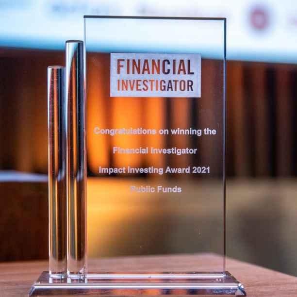 Triodos Pioneer Impact Fund wins Financial Investigator Impact Investing Award 2021